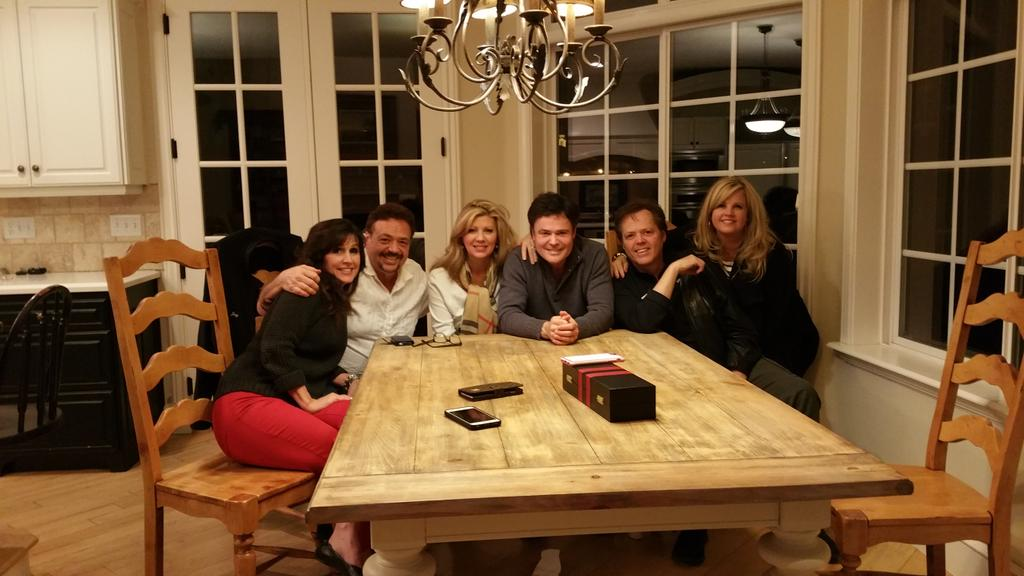 We celebrated my brother @jayosmond b-day last night at our home. Happy Birthday brother. We love you. @jimmyosmond http://t.co/NGib4OJ4J3