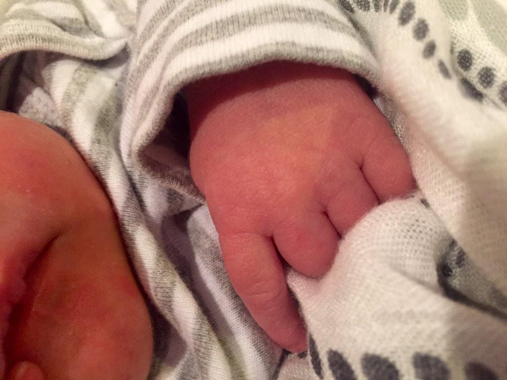 I M Fisher... Better buy the kid some lures. RT @carrieunderwood: God has blessed us with...Isaiah Michael Fisher -