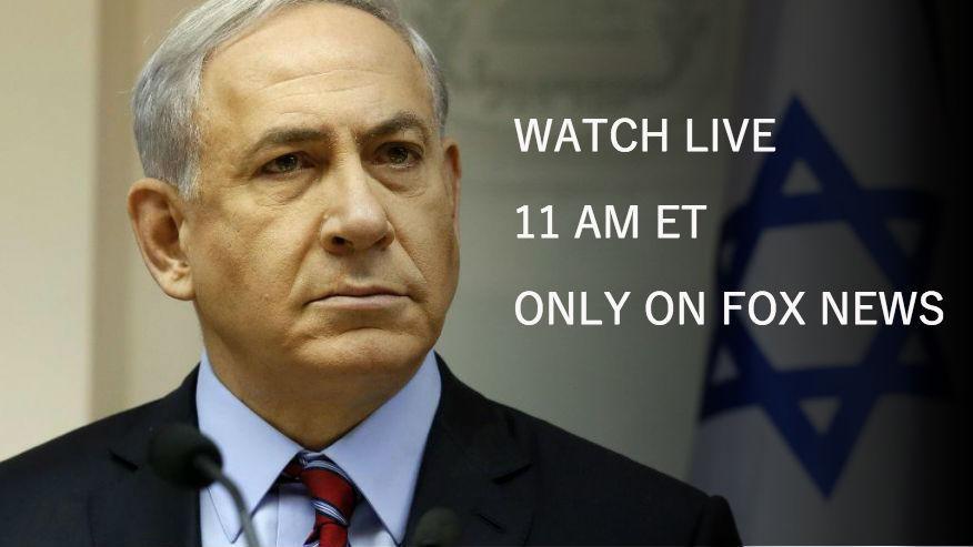 watch israeli pm netanyahu address congress at 11 am et. Black Bedroom Furniture Sets. Home Design Ideas