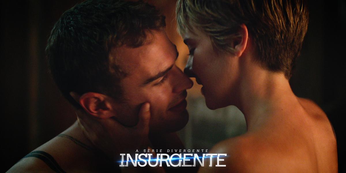 Juntos, eles libertarão o mundo.  Shailene Woodley e Theo James chegam aos cinemas em 19 de março. <3 #Insurgente http://t.co/lLdumfCaYS