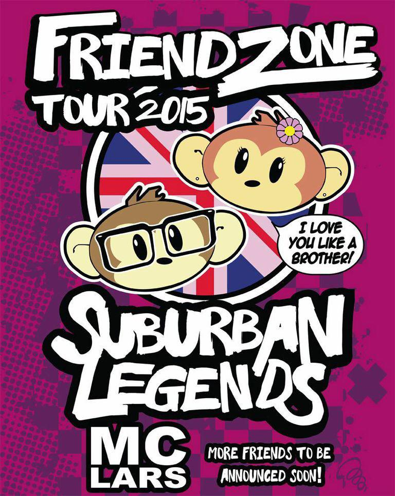 We're coming in April! w/ @mclars!!! We'll be posting dates all this week!! #FriendZoneTour #mclars #uk #tesco #sushi http://t.co/rP1UGwVPJF
