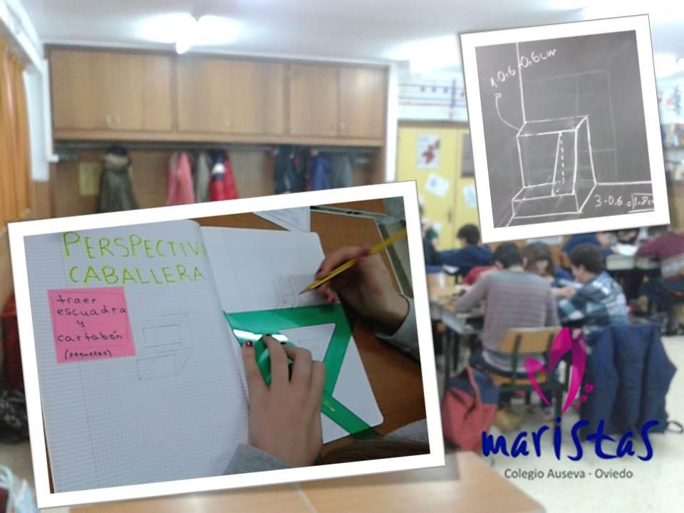 TECNOLOGIA 2º: Comenzamos a trabajar en cooperativo la P. Caballera @ausevamaristas #compostelaenruta http://t.co/RySR7o9vBZ