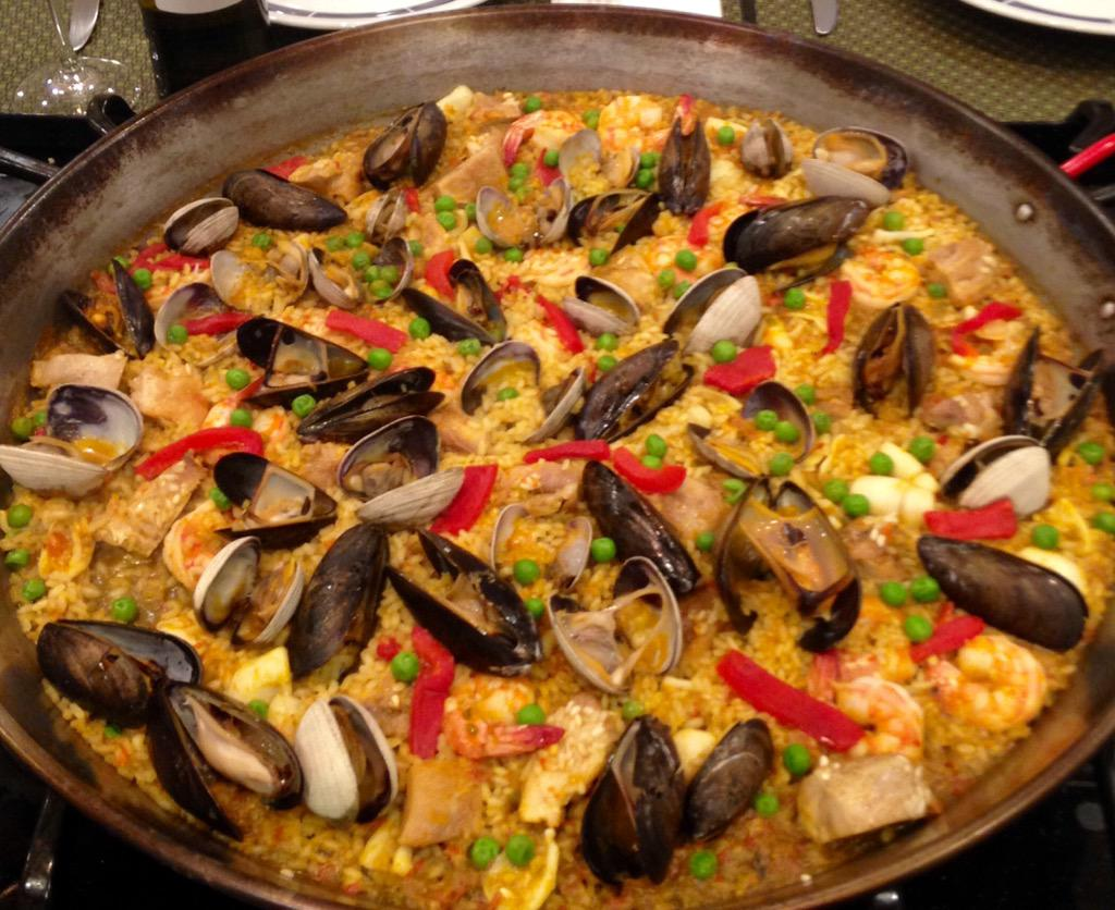 Stop by Solera and join us for some delicious Paella!