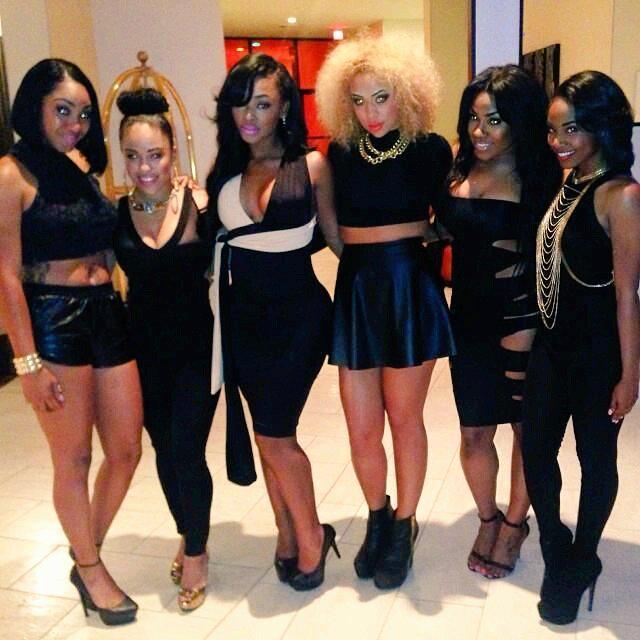 All black girls
