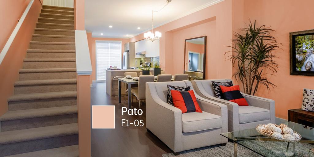 Comex on twitter los colores pastel siempre har n m s - Gama de colores de pintura para interiores ...