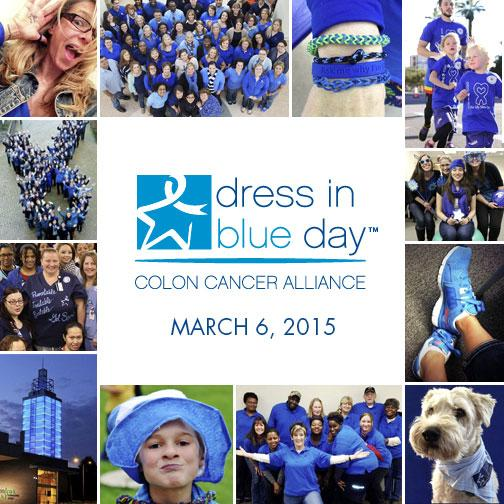 Friday is Nat'l #DressinBlueDay - show your support! #ColonCancerMonth http://t.co/MkLmm8S9Ng http://t.co/syv9I0ZqBS
