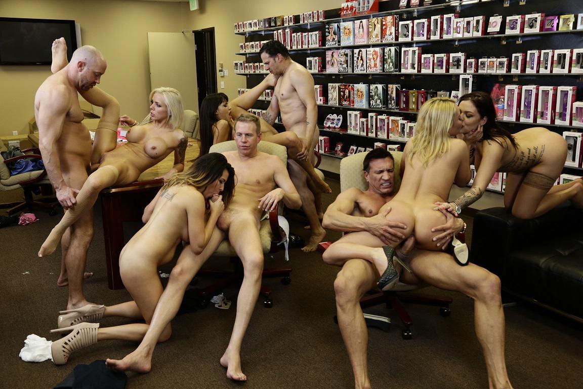 Orgy Office 35