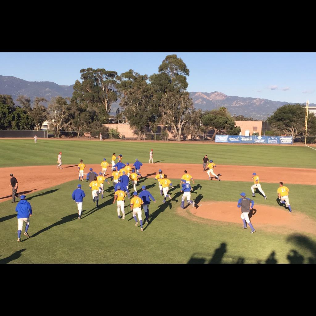 """UCSB Baseball on Twitter: """"WALKOFF!! Pinch hitter Dalton ..."""