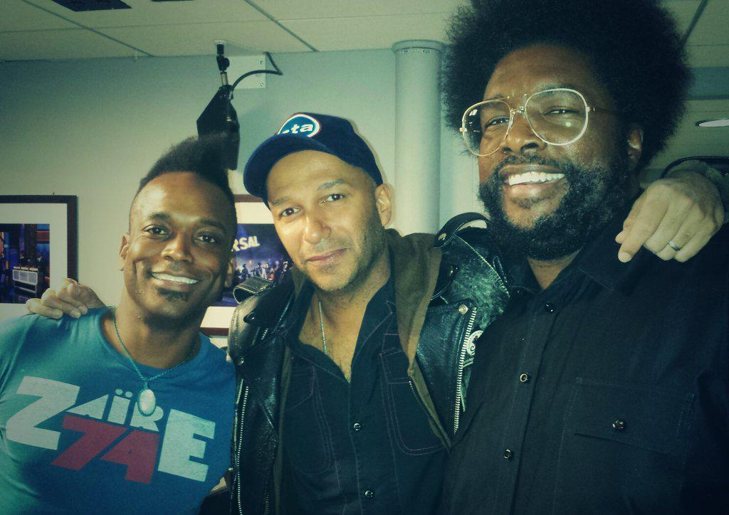 Tune in to @FallonTonight to see @theroots join forces with @tmorello and @TheRealGZA doing #themexican! http://t.co/wqBcvVsAWk