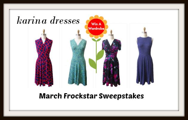 #Frockstar #KarinaDresses sweepstakes