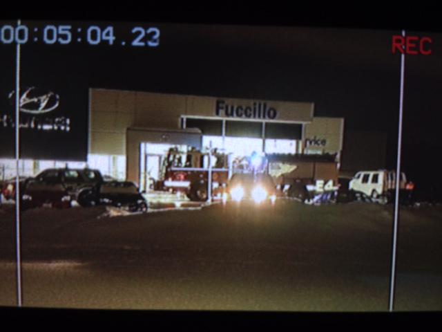 Breaking News Partial Roof Collapse At Fuccillo Chevrolet On Grand Island Http