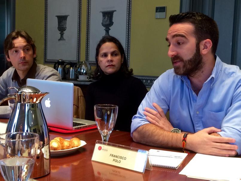 Nuestro invitado de hoy, @franciscopolo, junto a @quiet_analysis y @MorganinMadrid en #elcanotalks. http://t.co/2sysWKgFm8