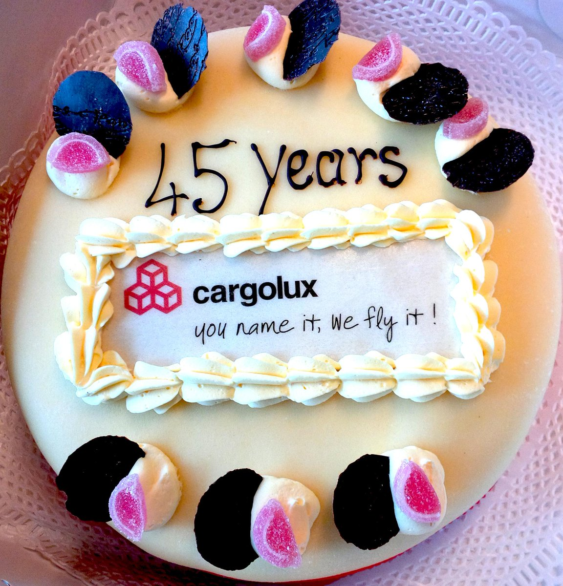 Outstanding Cargolux Airlines On Twitter Cargolux Intl Turns 45 Happy Personalised Birthday Cards Paralily Jamesorg