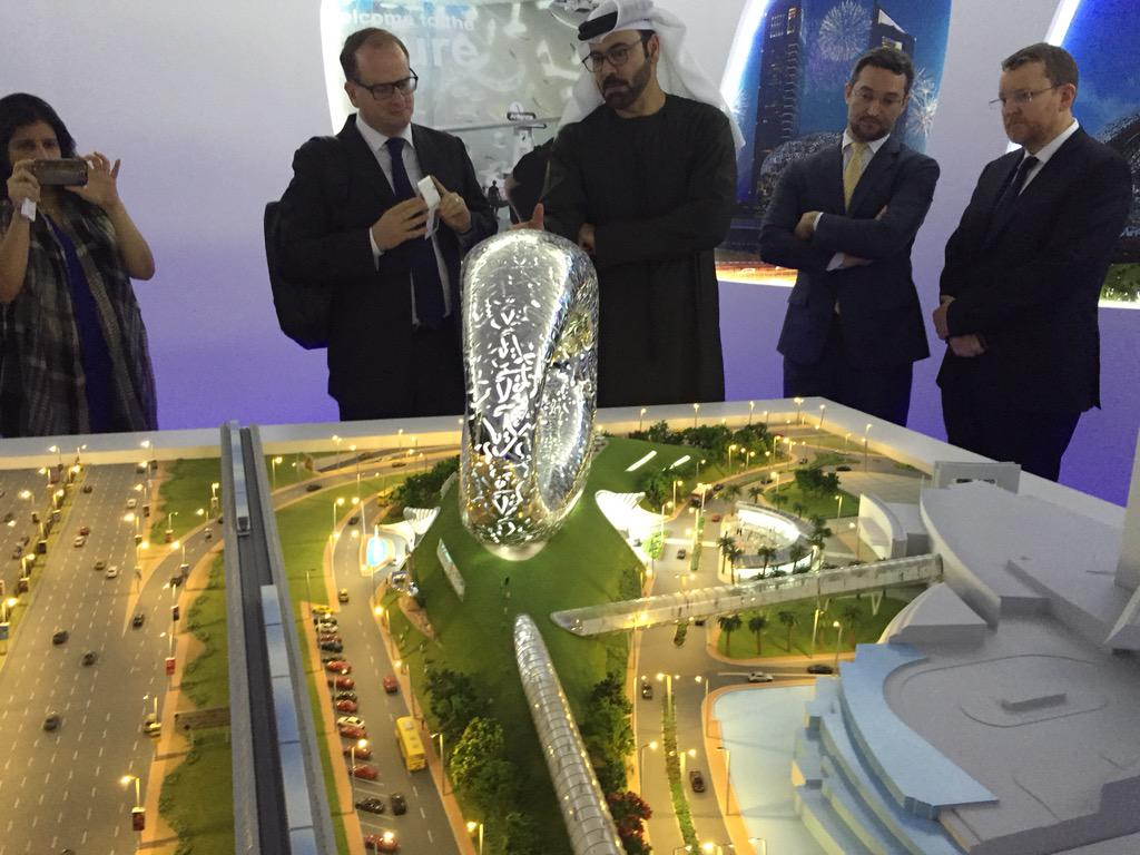Dubai launches Museum of the Future, a complex of innovation labs that develop ideas and systems for future cities. http://t.co/hWzMEe7G5L