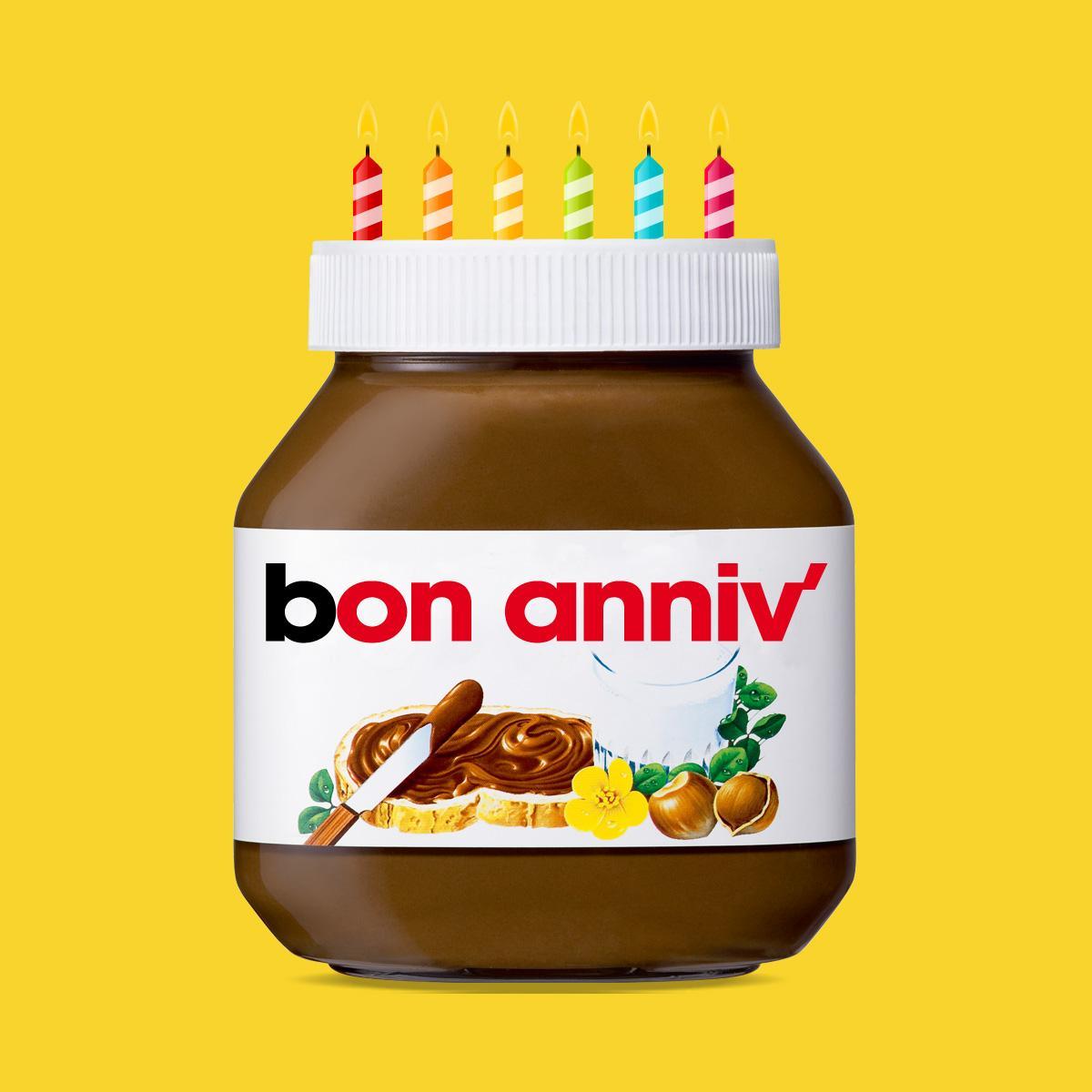 Carte Anniversaire Nutella.Nutella France On Twitter 1 Ne Pas Avoir De Cadeau Ni De