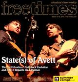 COVER | @TheAvettBros are coming to @TownshipSC this week  -- and that's a big deal http://t.co/6mDQa8j7MR http://t.co/N2DhYkCk3r