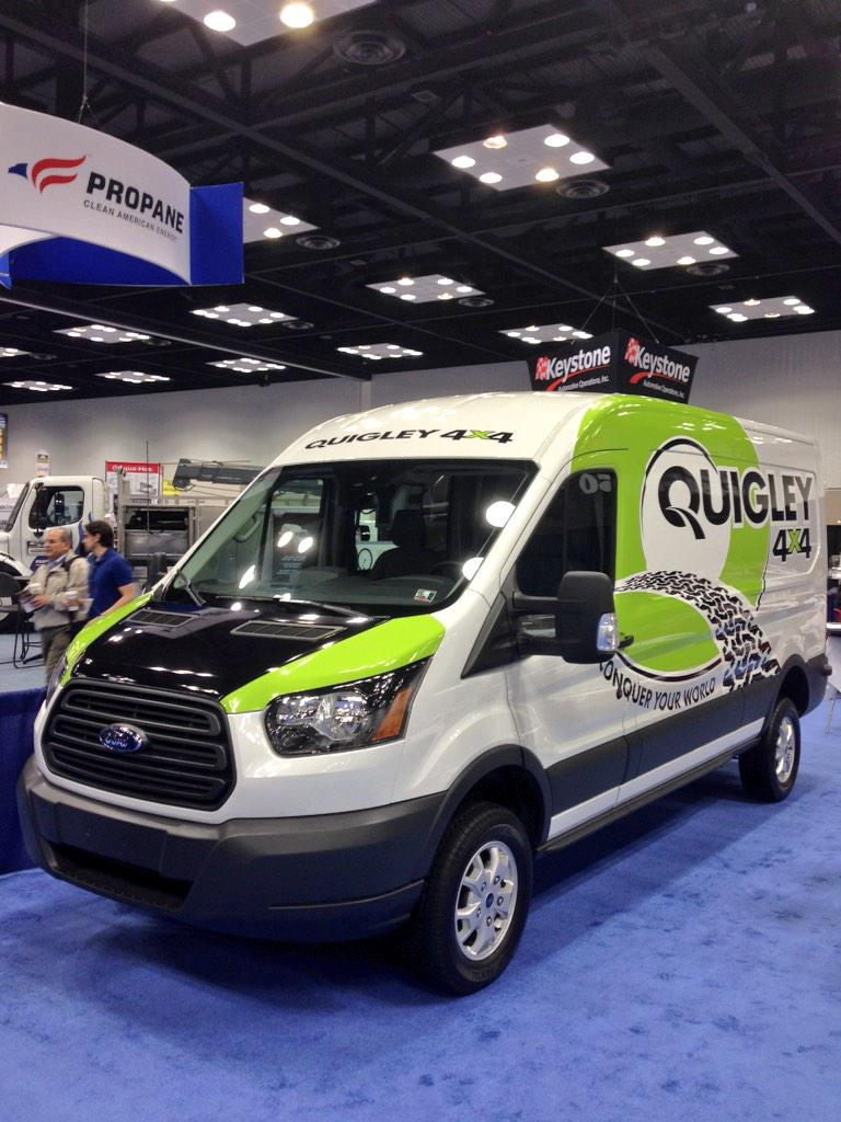 "Mike Levine on Twitter ""New Ford Transit with Quigley 4x4"