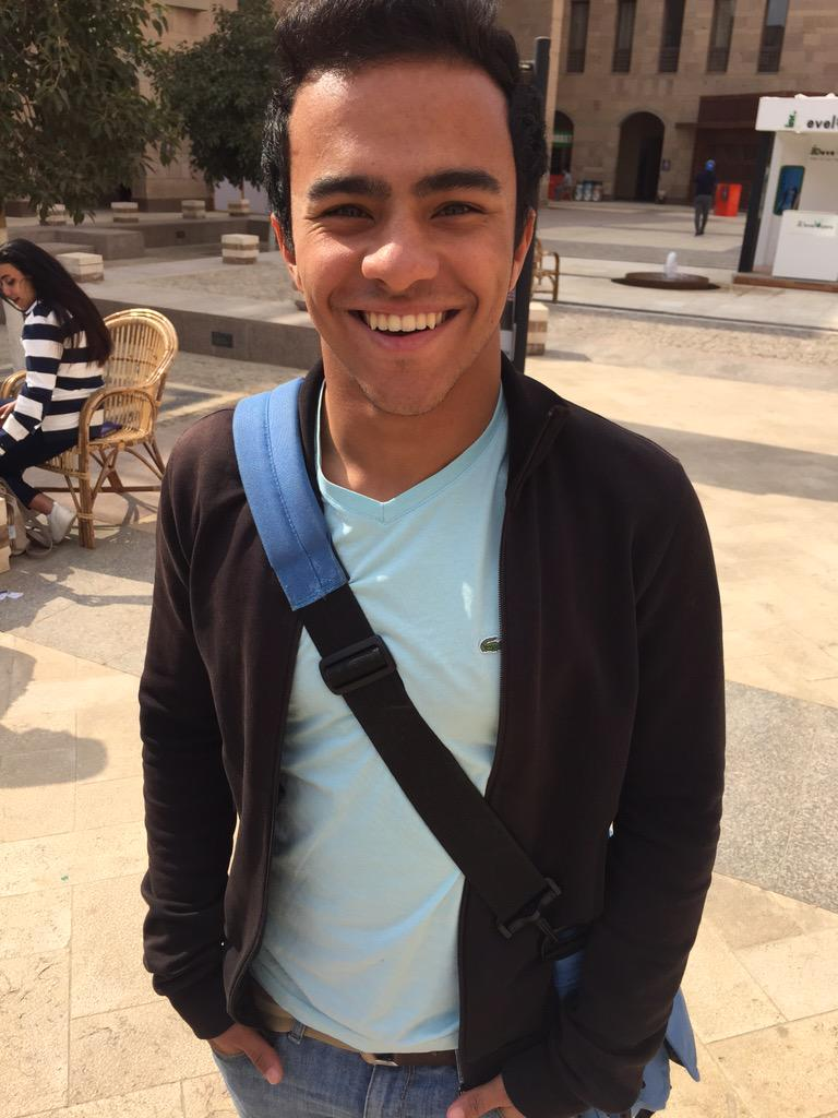 """Did you know that AUC has a five-a-side soccer team?"" said Sherif Yassin, a team member.#jrmc2202 #JRLWeb http://t.co/Ktp58Lu6kS"