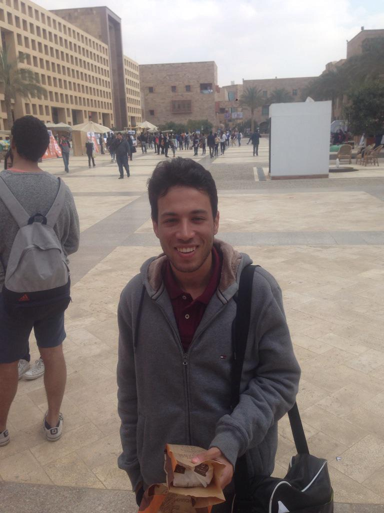 "According to Amr Hisham, Computer Science junior, ""Twitter is my source of news."" #JRMC2202 #JRLWeb http://t.co/9DRXqPBDnH"