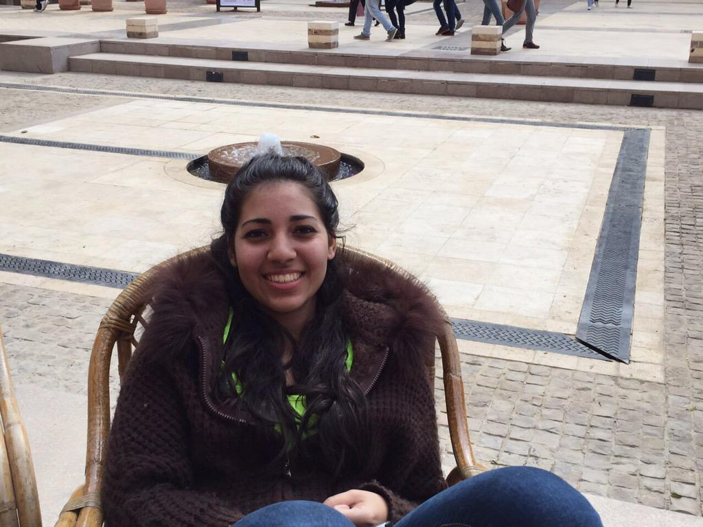 """I get most of my news from Twitter "" Nada Gasser, Freshman, Psychology Major. #JRMC2202 #JRLWeb http://t.co/GYEG5jHUHV"
