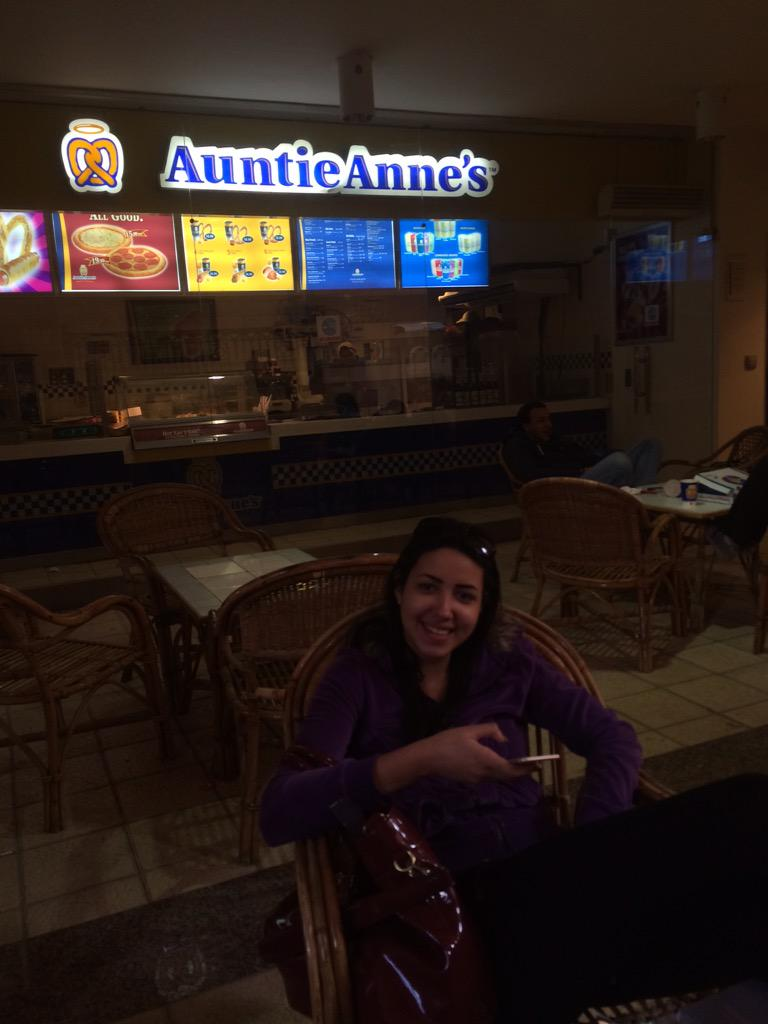"""""""Auntie Anne's, because simply nobody does it better."""" Zeina Zahra, Junior, IMC Major. #JRLWeb #JRMC2202 http://t.co/Px8543zqUU"""