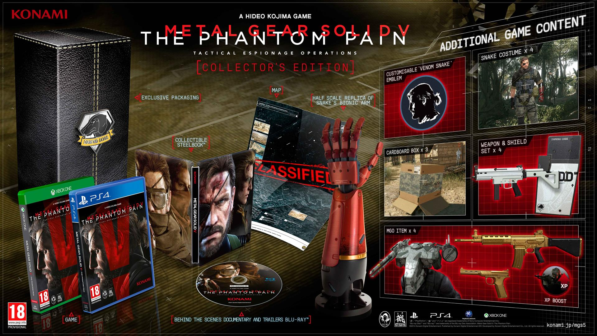 METAL GEAR SOLID 5: THE PHANTOM PAIN - Collectors Edition B_QiwyRWwAACaif