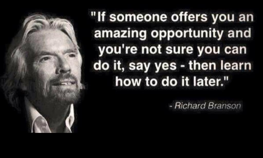 """""""@CortesLatino: #truth http://t.co/XpnLI6LtVZ"""" Absolutely!  When opportunity knocks, open the door!"""