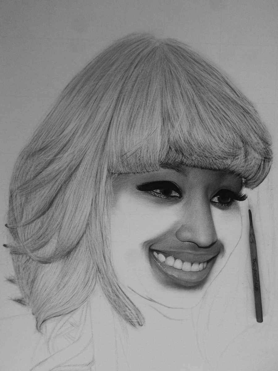 Theo pencil on twitter nickiminaj a drawing by theopencil from ghana http t co wkzhc5sdp9cont 233543457132 http t co o2w5zxper7