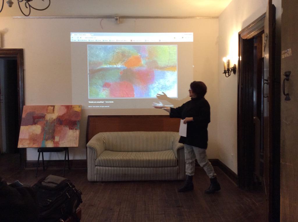 .@tania_iraheta presenting her work now #storiesuntold http://t.co/1sIl1uqDBJ