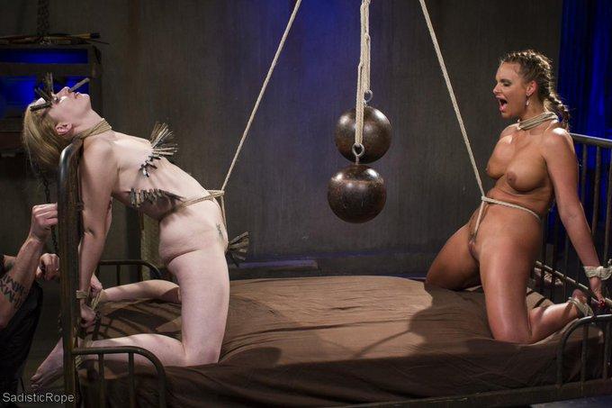 RT @JohnPaulthePope: New #SadisticRope w/ @PMarizzle and @Delirious_xxx http://t.co/NjeEVJ0oXi #bondage