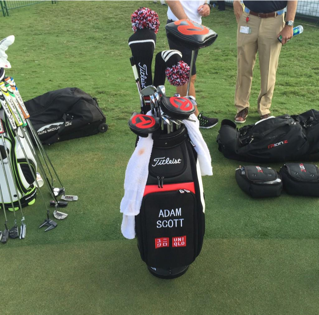 Pga Tour On Twitter Adam Scott Is Testing Four Different Putters