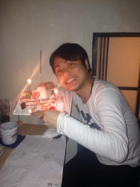 今夜はノンスタイル井上くんの誕生日会〜☺️