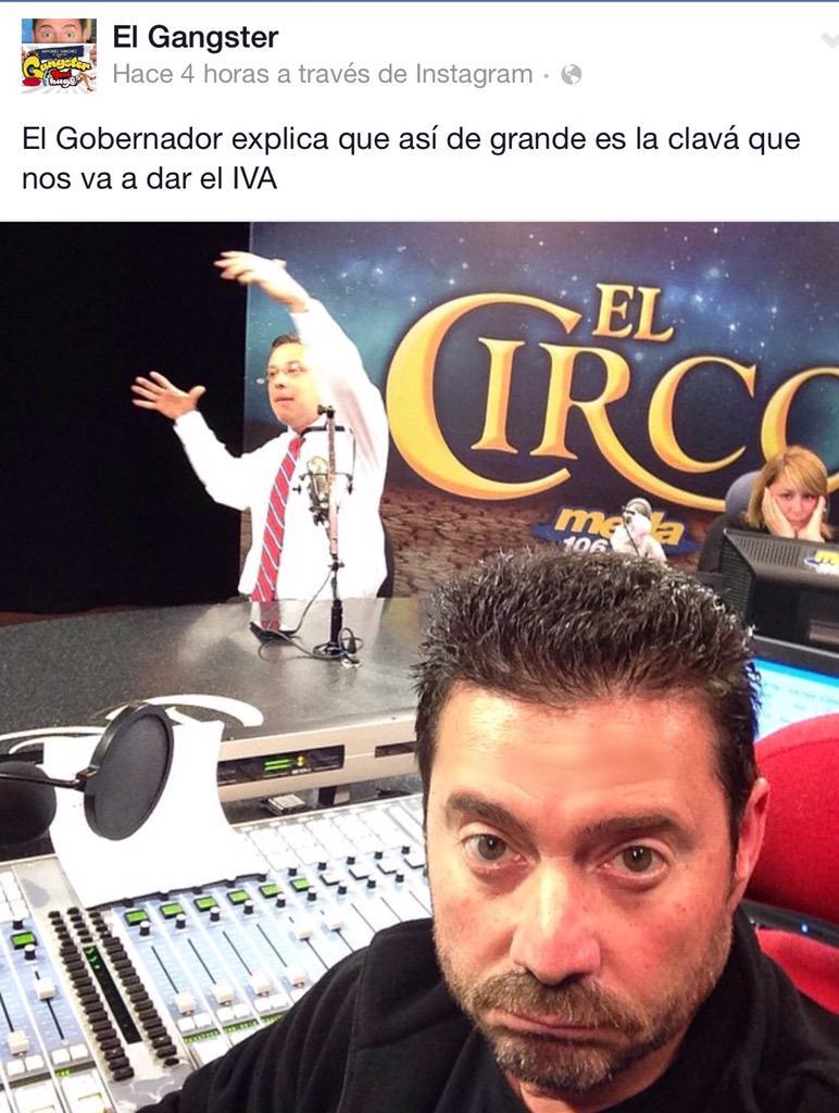 Este selfie del @elgangster capta la atención en las redes sociales... #JustoenelMomento http://t.co/Sc1RPrrknh