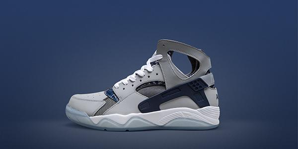 brand new bfcfe 676be this nike air flight huarache features 90s graphic detail now available in  stores amp online