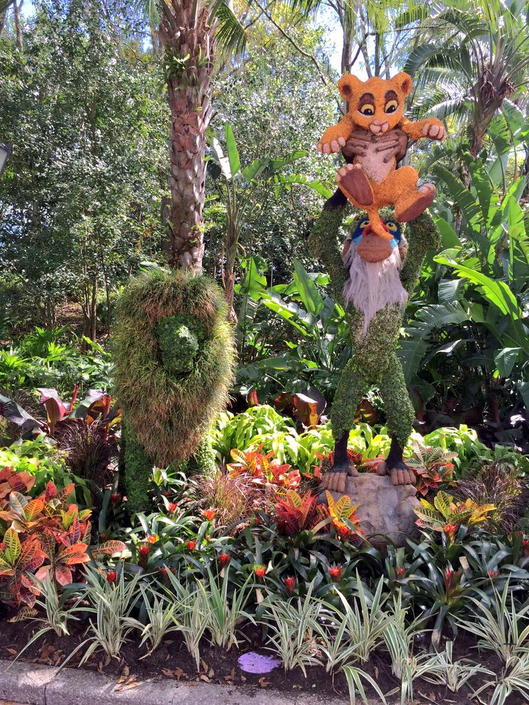 Epcot International Flower Garden Festival at Disney World