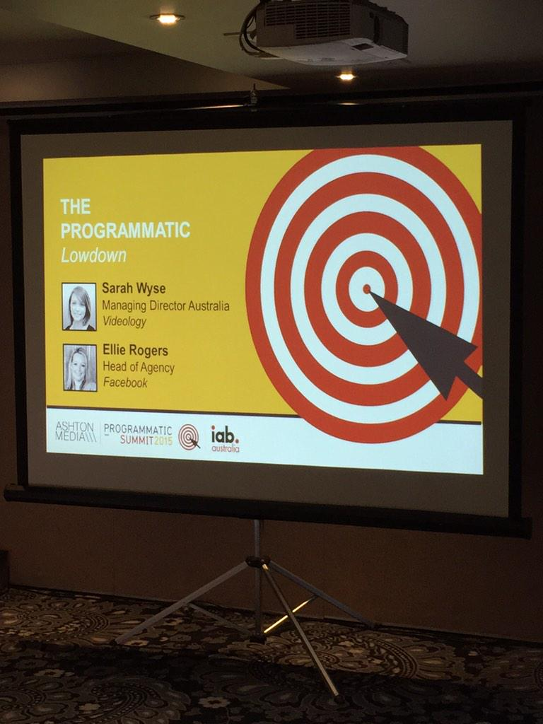 Our 'Introduction to #Programmatic' breakfast workshop is about to start. Kicking off a great day at #programmatic15 http://t.co/6SEFWg0xaf