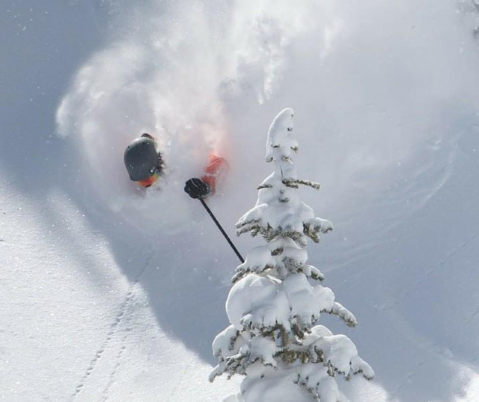 Today did not suck in @AspenSnowmass! Photo: @blizzimages, @TecnicaBlizzard #Aspen #skiing http://t.co/uhgXutfZxp