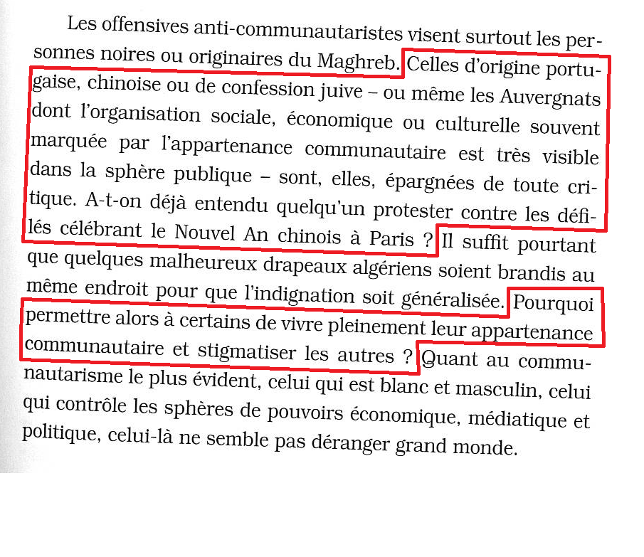 """Rokhaya Diallo : """"Racisme, mode d'emploi"""" page 187 http://t.co/AjigTAPzUD"""