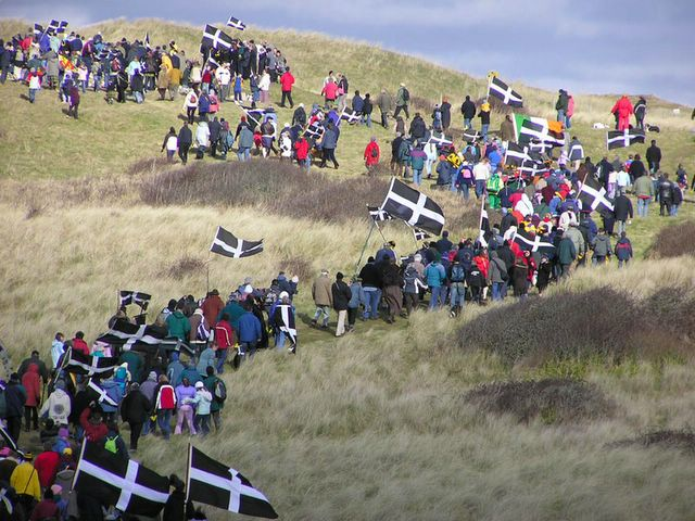 2015 the first St Piran's day the Cornish will celebrate as a recognised National Minority. http://t.co/nwhDOdQVqz http://t.co/EgbeEtTTu1