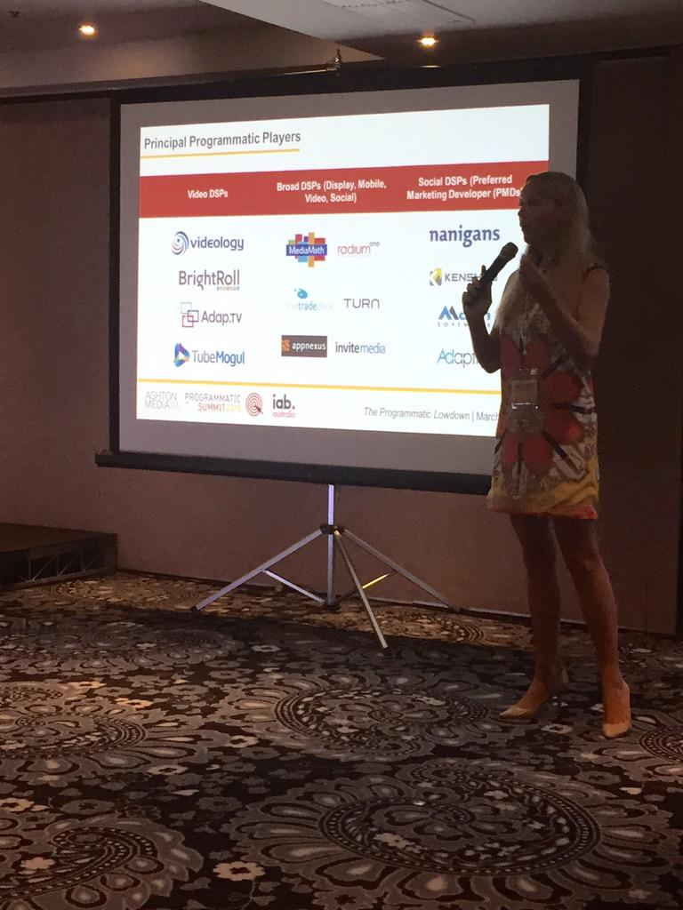 Ellie Rogers, Head of Agency Sales, @facebook identifying the main players in the #programmatic space #programmatic15 http://t.co/emjITMYT8B