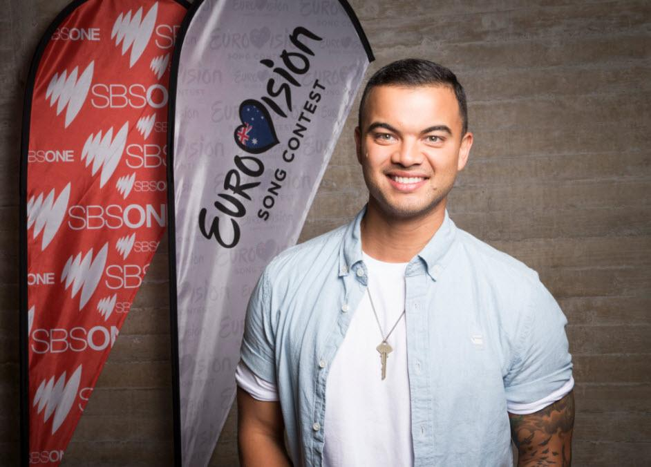 Australia! Your 2015 #SBSEurovision artist is the incredible @GuySebastian!  SBS ONE & http://t.co/JWn9txpWXH now! http://t.co/6BtocUWWi3