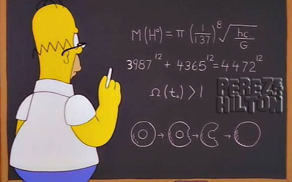 Here's proof that #HomerSimpson predicted the mass of Higgs boson years before physicists! http://t.co/lRU5DjLhix http://t.co/uW0xvV5dHI