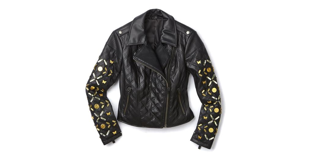 You'll never guess who designed this chic leather jacket for @HSN: http://t.co/eeHegAAx0x http://t.co/NqbHCSFRwm