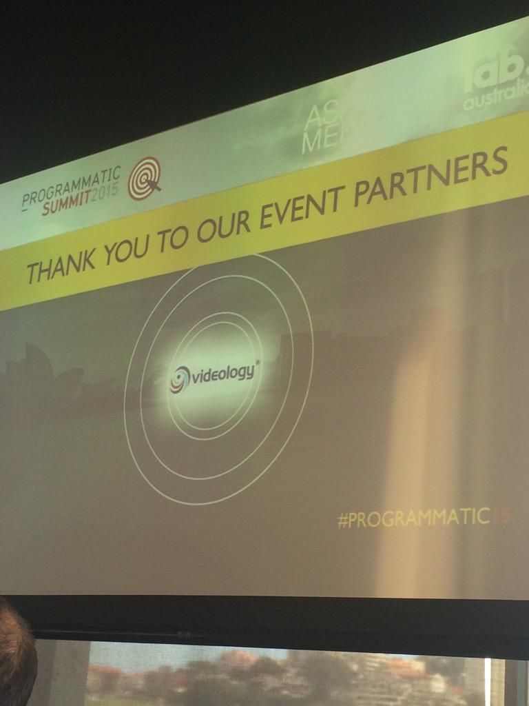 You're very welcome @AshtonMediaOZ - delighted to be involved and thoroughly enjoying the day so far #programmatic15 http://t.co/iTL2VU7XGh