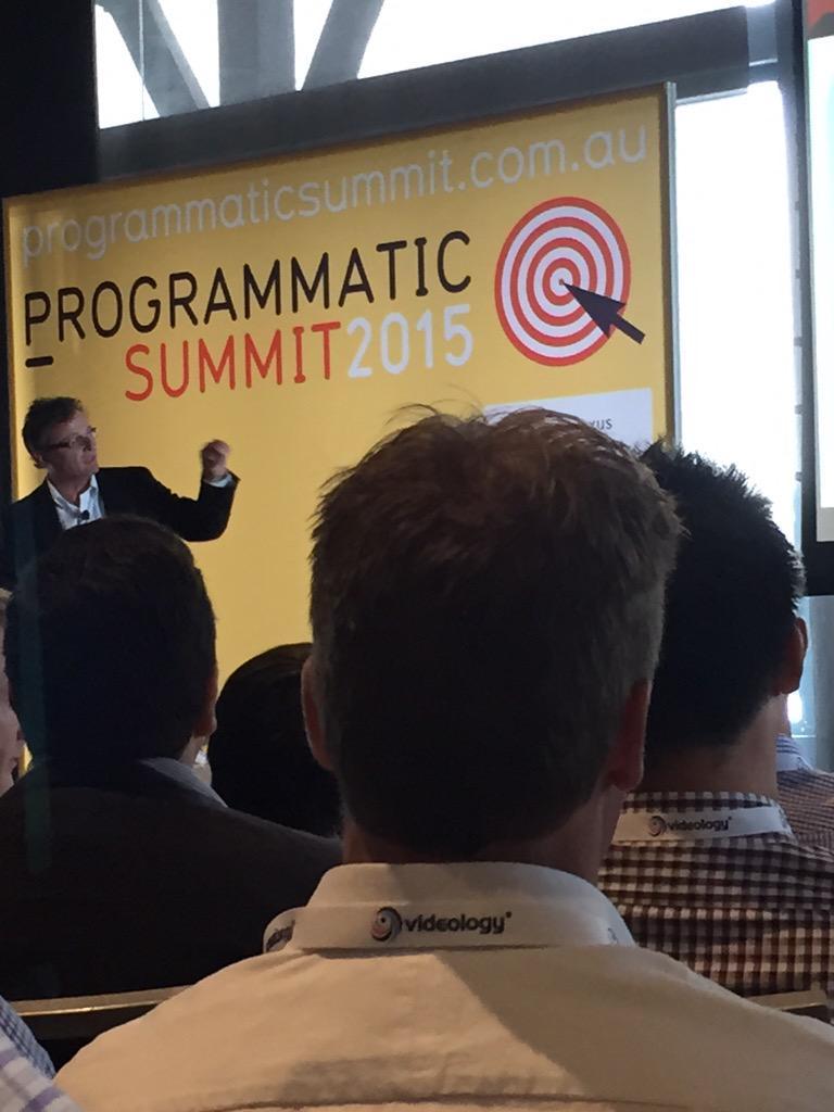 Gary Milner @lenovoUS on brand evolution at #programmatic15. Up next Sarah Wyse transparent & fair marketplace panel http://t.co/e1AQOI4WEk