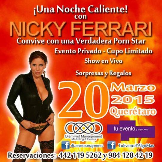 Eli Viejo A Twitter No Te Pierdas El Show De Nicky Ferrari En Querétaro Sólo Para Ti Http T Co Kl3eefvztf