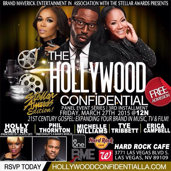 RT @eOneNashville: #StellarAwards weekend, come to hear @ImEricaCampbell @RealMichelleW & more! RSVP for free http://t.co/PeRoXHTO1y http:/…