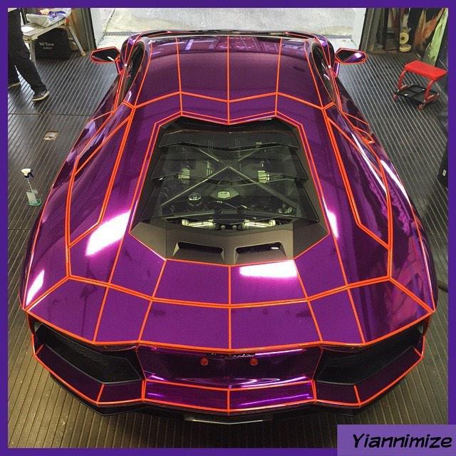 Nassar Al Thani Matte Purple Lamborghini Aventador Lp700 4 Taken