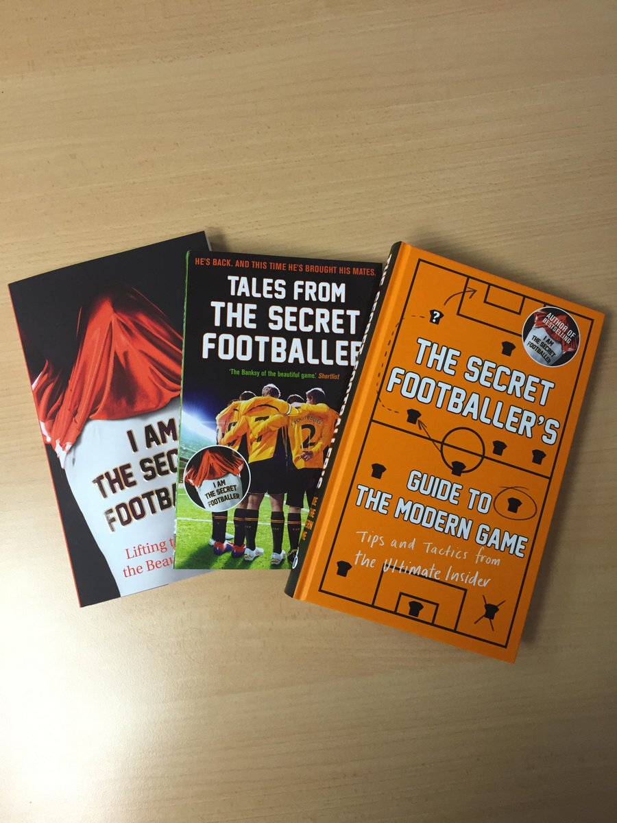 The Secret Footballer Book