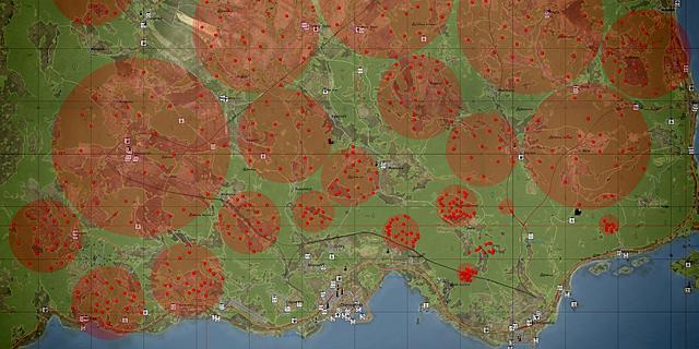 Dayz standalone map English